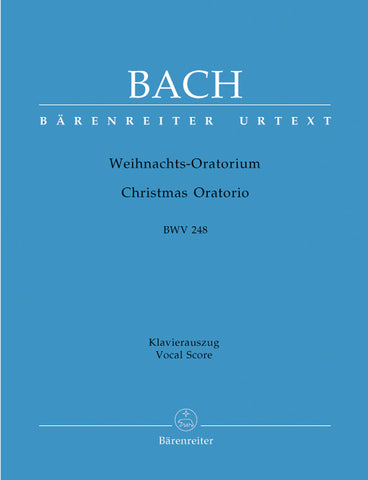 Bach - Christmas Oratorio , BWV. 248 (German and English) - Vocal Score
