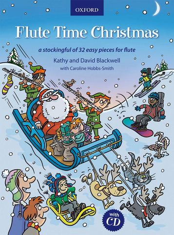 Blackwell - Flute Time Christmas (w/CD) - Flute