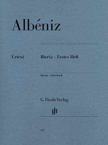 Albeniz – Iberia: First Book – Piano