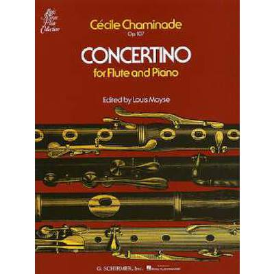 Chaminade, arr. Moyse - Concertino Op. 107 - Flute and Piano