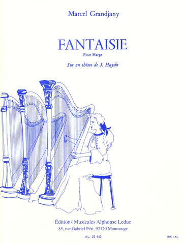 Grandjany - Fantasy on a Theme by Haydn - Harp