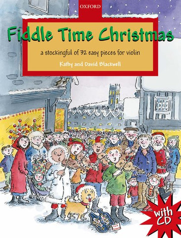Blackwell and Blackwell, arrs. - Fiddle Time Christmas (w/CD) - Violin and Piano