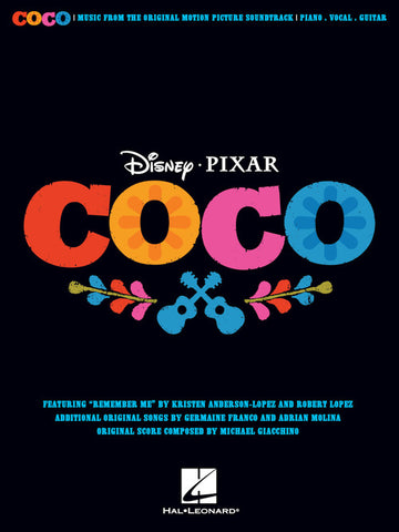 Anderson-Lopez et al. – Coco – Piano, Vocal, Guitar