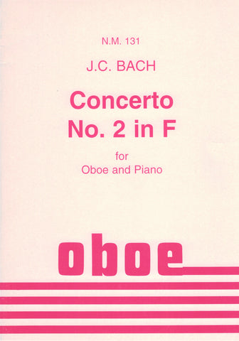 Bach, J.C., ed. Voxman - Concerto No. 2 in F - Oboe and Piano