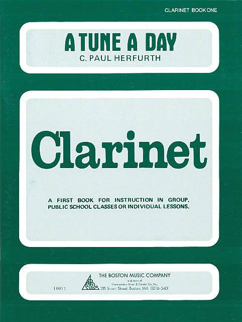 Herfurth – A Tune a Day: Clarinet, Book 1 – Clarinet Method