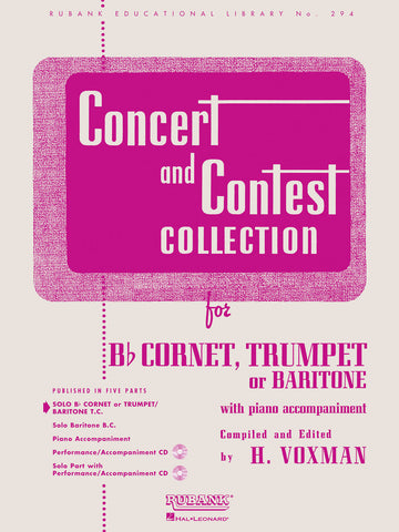 Concert and Contest Collection - Bb Cornet, Trumpet or Baritone T.C