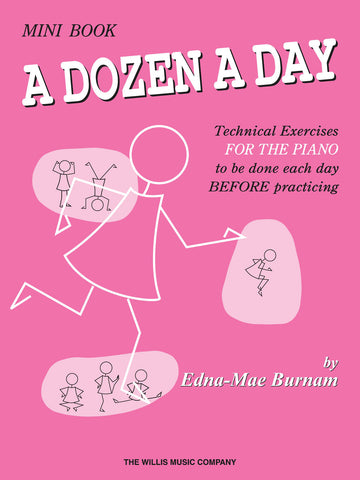 A Dozen a Day, Mini Book - Piano Method