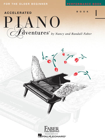 Accelerated Piano Adventures Level 1: Performance - Piano Method