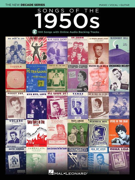 Various - Songs of the 1950s (w/Audio Access) - Piano, Vocal, Guitar