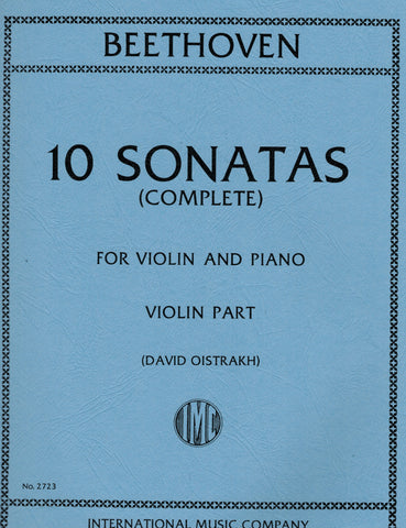 Beethoven (ed. Oistrakh) - 10 Sonatas - Violin and Piano