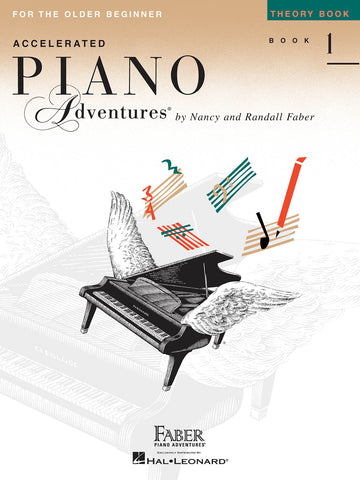 Accelerated Piano Adventures Level 1: Theory - Piano Method