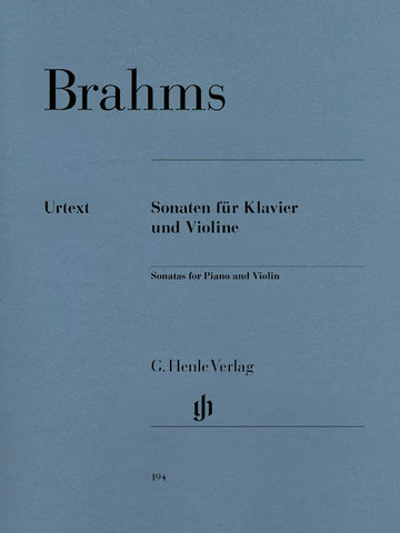 Brahms - Complete Sonatas for Violin and Piano - Violin and Piano