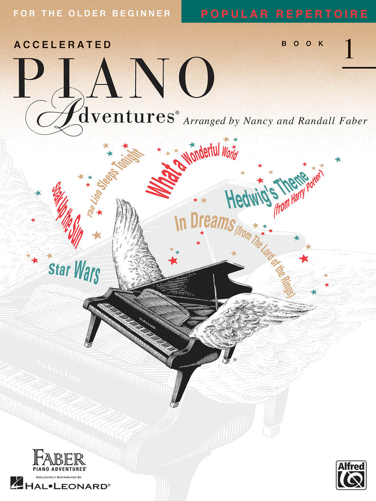 Accelerated Piano Adventures Level 1: Popular Repertoire - Piano Method