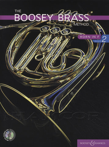 ed. Morgan - Boosey Brass Method, Book 2 (w/CD's) - Horn Method