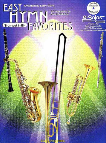 Easy Hymn Favorites (w/CD) - Trumpet and Piano