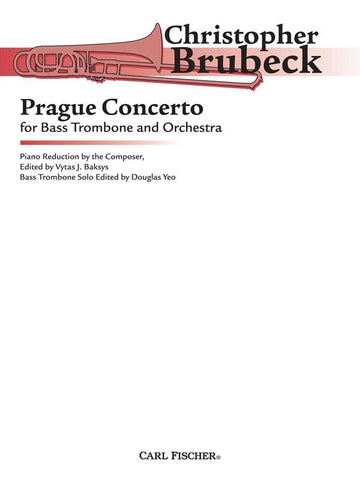 Brubeck, C. - Prague Concerto - Bass Trombone and Piano