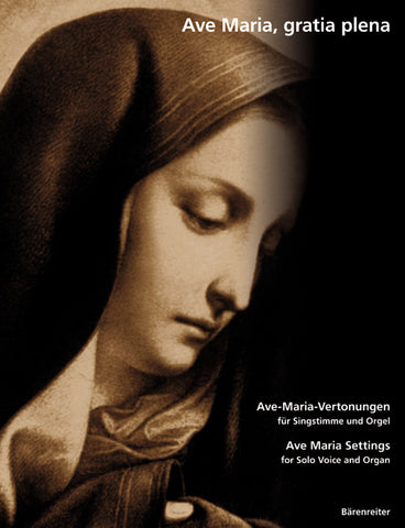 arr. Wagner, P. - Ave Maria Settings - Vocal and Organ