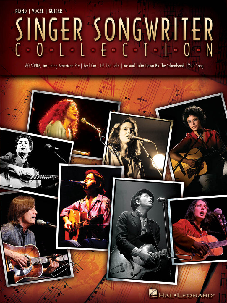 Singer Songwriter Collection -  Piano/Vocal/Guitar