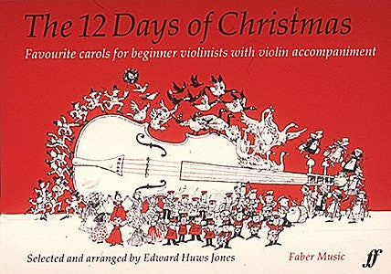 Jones, arr. - 12 Days of Christmas -Violin