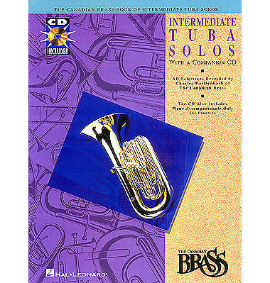 arr. Daellenbach - The Canadian Brass Intermediate Tuba Solos (w/CD) - Tuba