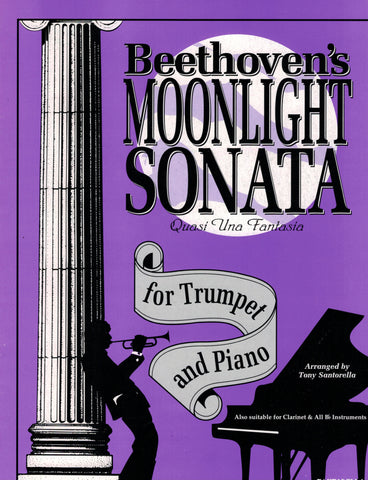 Beethoven, arr. Santorella - Moonlight Sonata - Trumpet and Piano