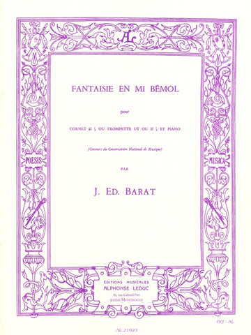 Barat - Fantaisie in Eb Minor - Trumpet and Piano