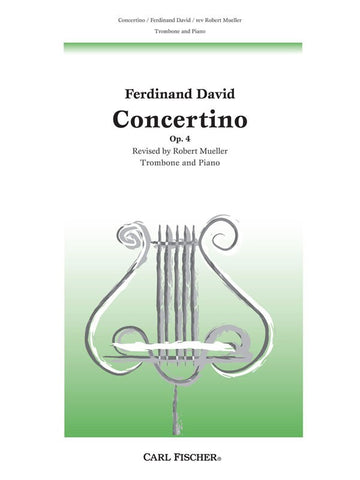David - Concertino, Op. 4 - Trombone and Piano