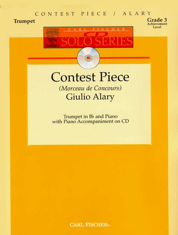 Alary - Concert Piece (w/CD) - Trumpet and Piano