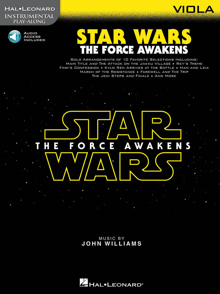 Williams, John - Star Wars the Force Awakens (w/Audio Access) - Viola
