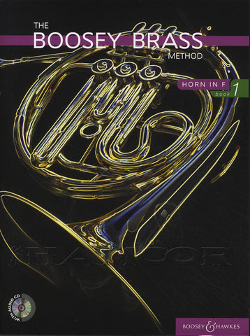 ed. Morgan - Boosey Brass Method, Book 1 (w/CD's) - Horn Method