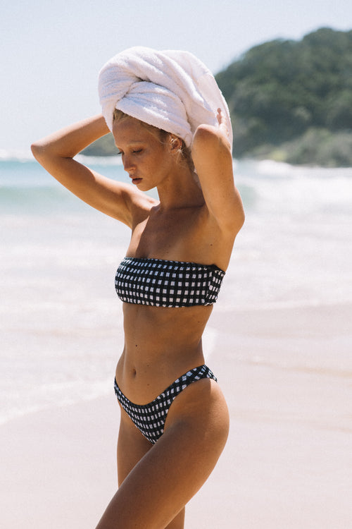 Stella Bottom | Gingham - Sami Swim