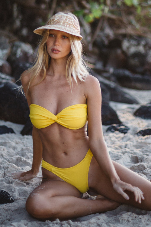 'Poppy' Bottom | Daffodil - Sami Swim
