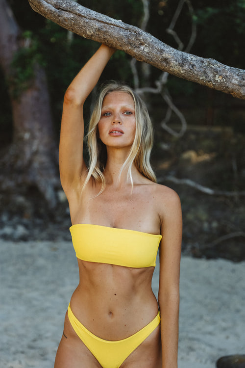 'Asha' Top | Daffodil - Sami Swim