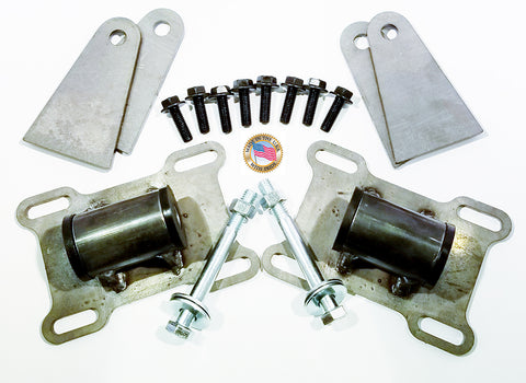 Universal Engine Mount Adapter Swap Kit GEN5, LT LT1 LT4 L83 L86 5.3 6.2 #17041A