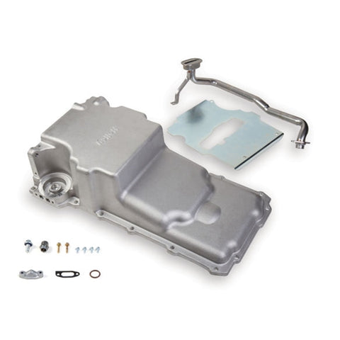 Holley 302-2 LS Engine Swap Retrofit Oil Pan Conversion LS1 5.3 6.0 LQ LSX Camaro Chevelle