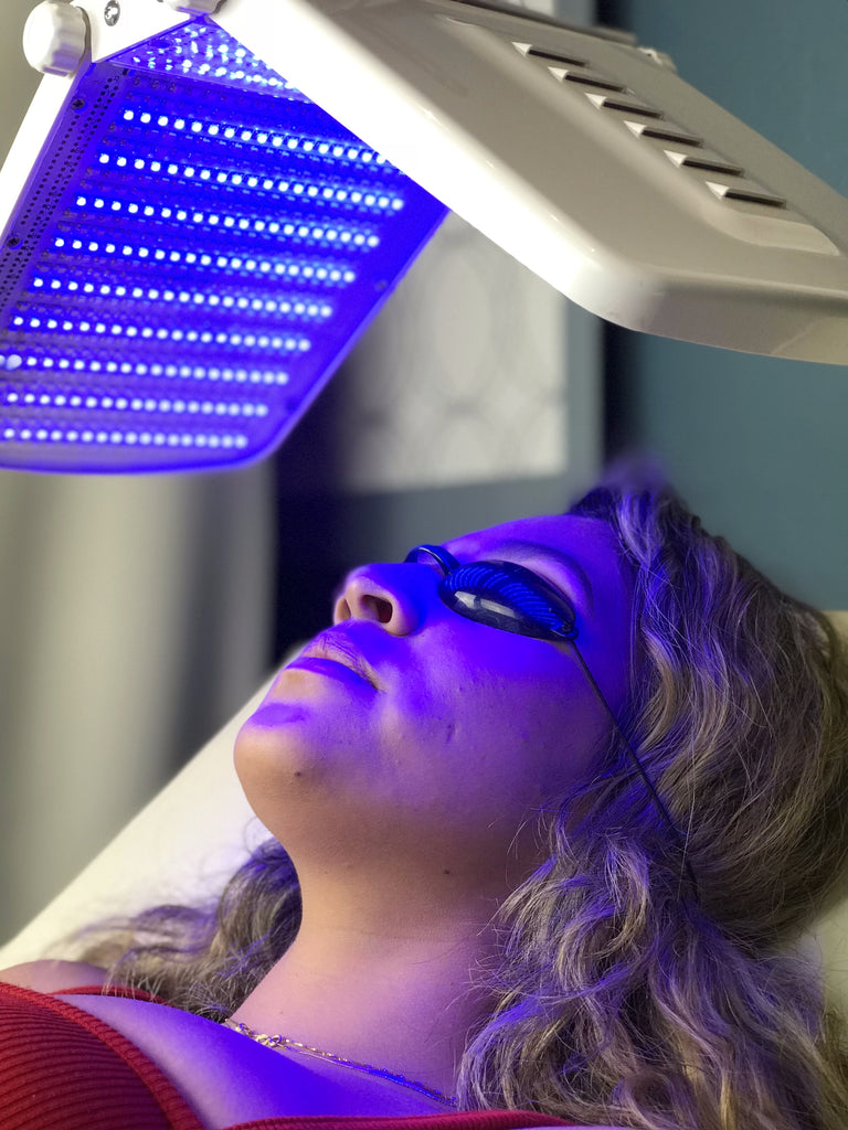 LED Photo Facial Treatment(s) Blue Light