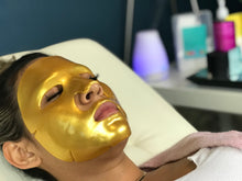 Load image into Gallery viewer, 24k Gold Collagen Anti-aging Facial Session