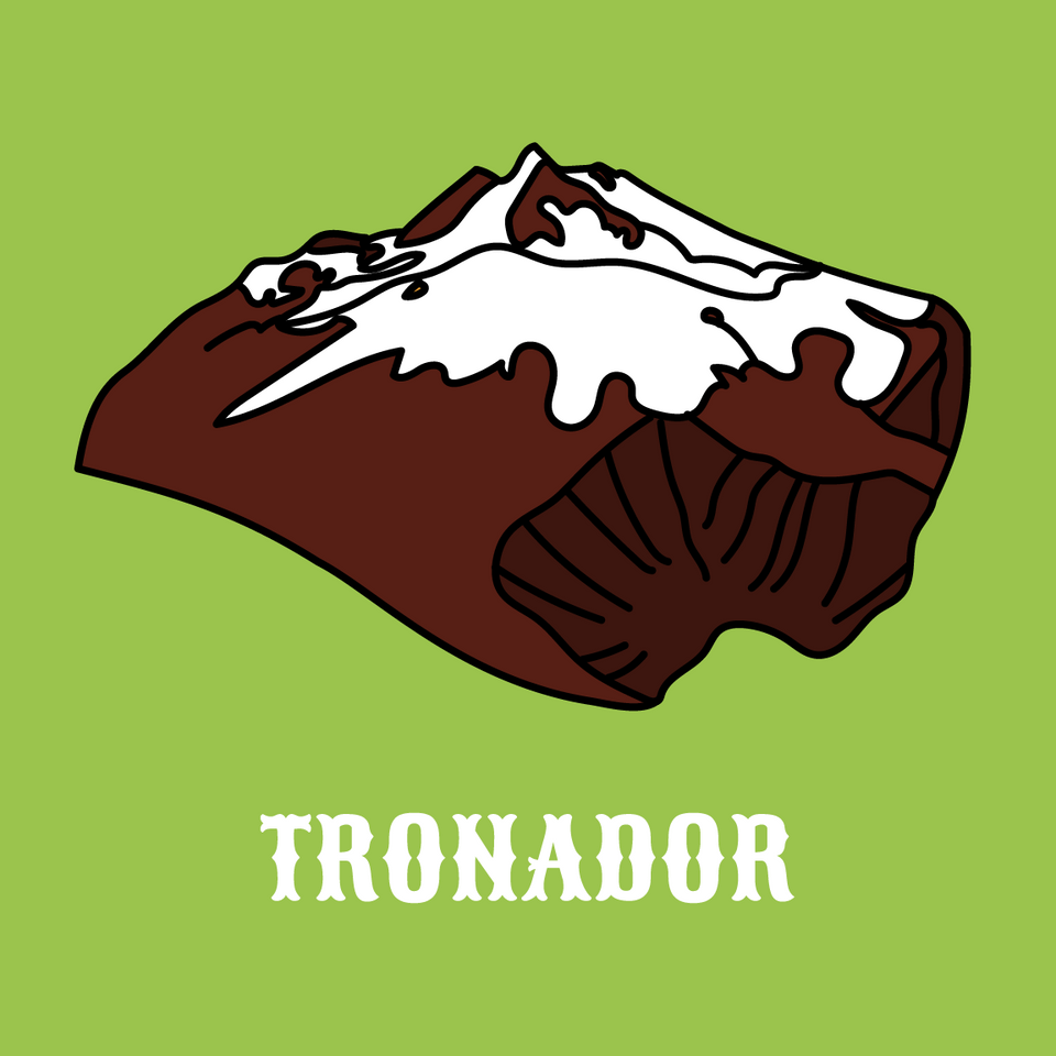 Tronador - Mint Chocolate Cones