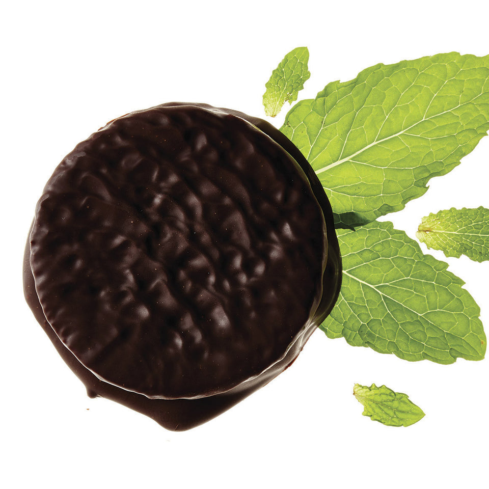 Mint Chocolate Alfajores