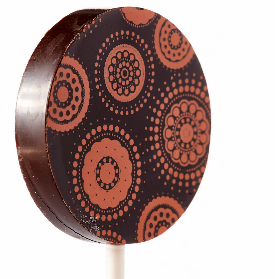Dark Chocolate Lollipop