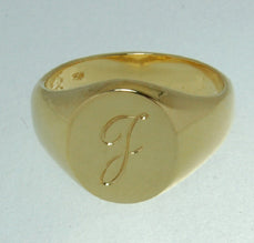 ring signet mens gold