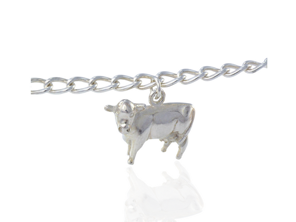 cow-charm-silver