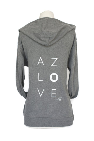 z AZ LOVE LONG SLEEVE ZIP UP