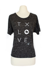 z TX LOVE SLOUCHY SHIRT