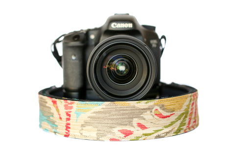 Paisley Camera Strap Multicolor