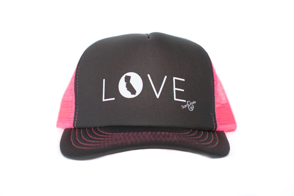 z CA LOVE HAT PINK