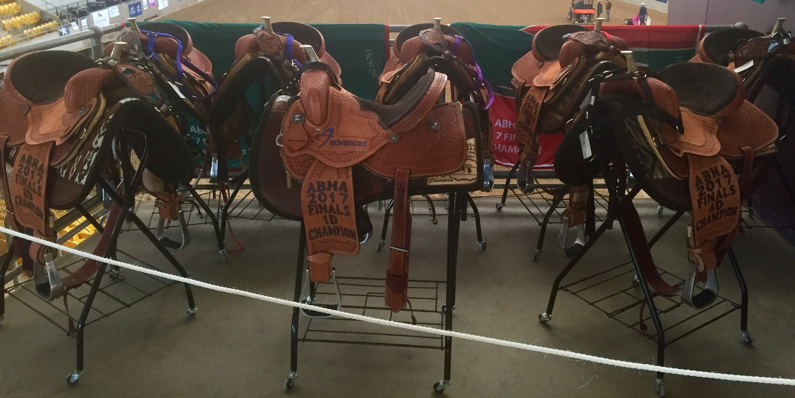 Triple creek saddles