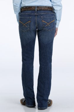 WOMEN'S KYLIE SLIM FIT JEAN - DARK STONEWASH