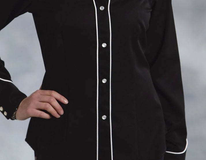 Womens roper l/s embroidered shirt