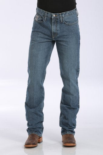 MEN'S SLIM FIT SILVER LABEL JEAN - MEDIUM STONEWASH